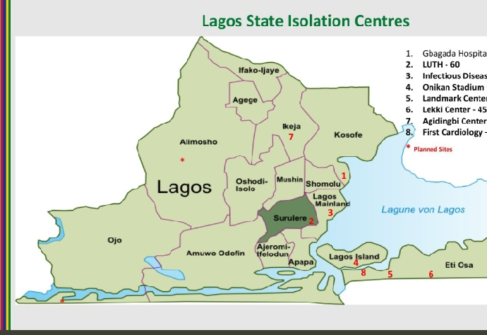 'Flattening the Curve' is Imminent as Lagos Fears Covid-19 Patients May Overwhelm Health Centers.