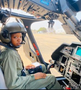 Nigeria's First Female Helicopter Pilot Dies at 23