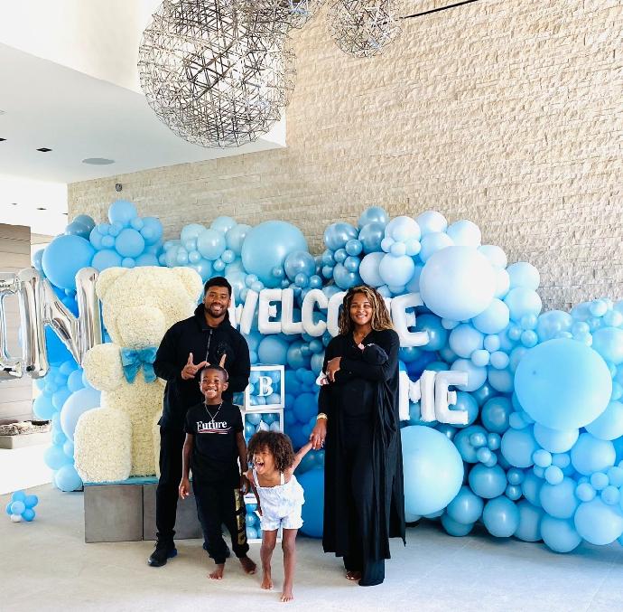 Ciara welcomes baby Win.