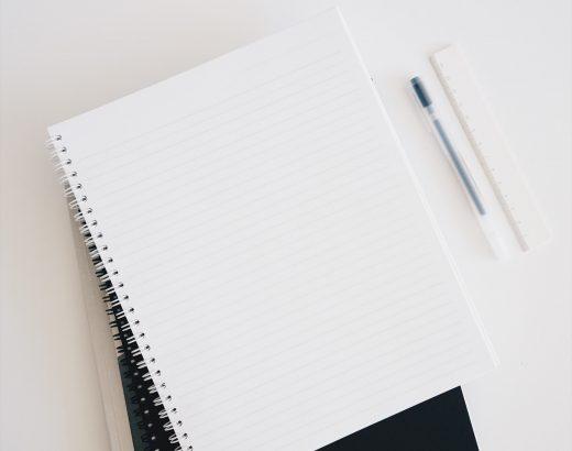 Writing materials. Make money through blogging