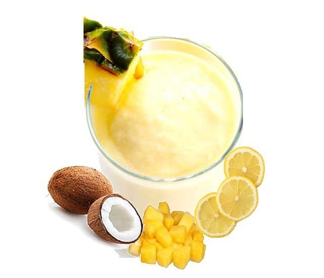 Creamy Pina Colada Sorbet for a Delightful Summer Evening
